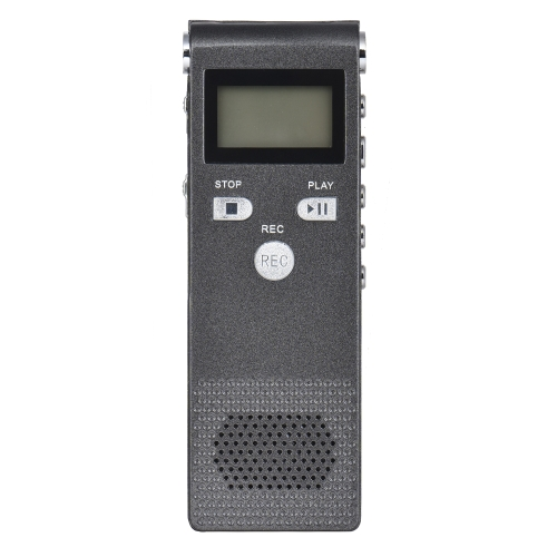 Voz Profissional Áudio Telefone Gravador Dictaphone 8GB MP3 Music Player Som Ativo 384Kbps Suporta Multi-idioma para Negócios Reunião Conferências de Concerto