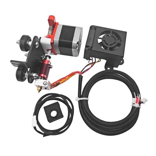 Ersatz Neues verbessertes 1,75-mm-Filament-Extruder-Antriebs-Zufuhr-Kit mit 0,4-mm-Düsen-Druckkopf-Motorunterstützung TPU-Filament-Druck