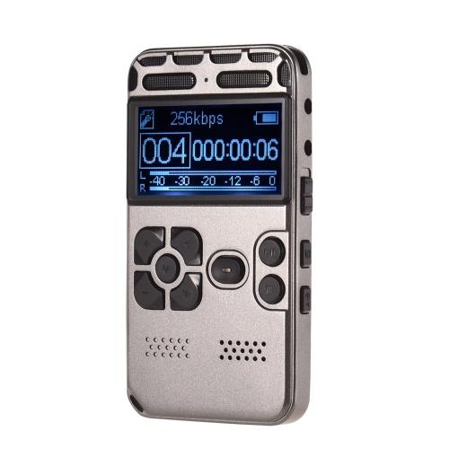 Professioneller hochauflösender digitaler Sound Voice Recorder MP3-Player