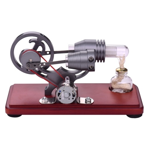 Aibecy Retro Style Hot Air Stirling Engine Motor Model