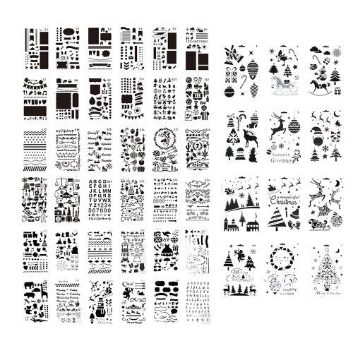 48pcs bambini che disegnano stencil