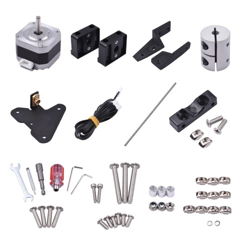 Dual Z Axis Lead Screw Upgrade Kit 42-34 Stepper Motor 365mm T8 Lead Screw