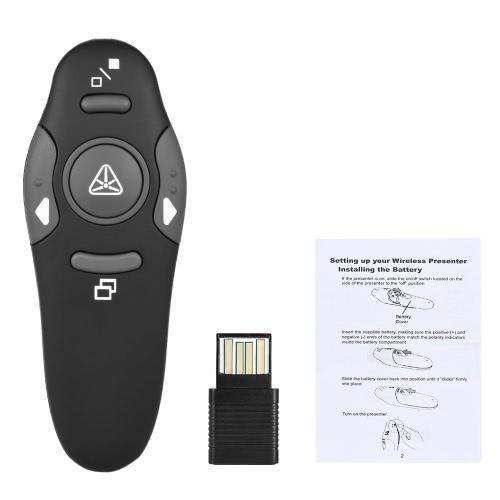 2.4GHz Wireless USB Powerpoint Apresentação PPT Flip Pen Pointer Clicker Apresentador para professora Professor Professor Scholar