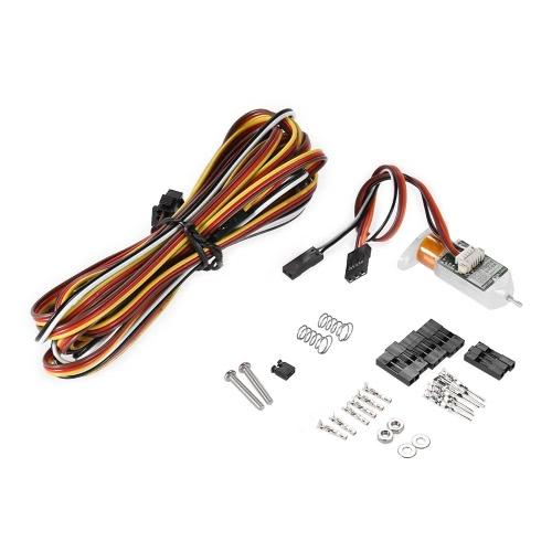 Auto Heatbed Bed Self-Leveling Ajuste de posição Sensor de proximidade indutivo com placa de montagem e parafusos para RepRap Prusa DIY i3 3D Printer