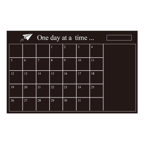 Naklejka na ścianę Zdejmowany Kalendarz na Księdze Kalendarz ścienny Kalendarz Miesiączny Notatka Tablica Tablica Tablica Organizer Pokój / Biuro / Ubrania szkolne