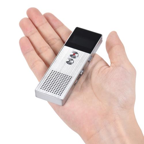 8 ГБ Цифровой диктофон Диктофон MP3 Музыкальный проигрыватель Стерео звук фото