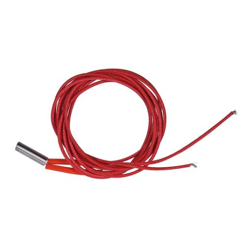 12V 40W Nagrzewnica Grzewcza Przewód grzejny Przewód grzejny 1m do części wytłaczarki do drukarek 3D