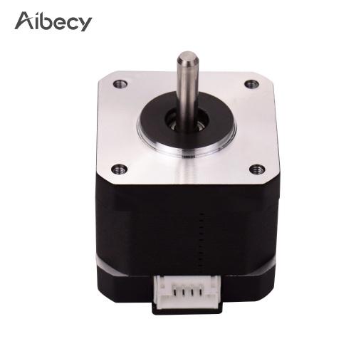 Parti della stampante 3D Aibecy 42-40 Motore passo-passo 2 Fase 1.8 Gradi Angolo di passo 0.4NM Motore passo-passo 1A (17HS4401) per Creality CR-10 CR-10S Ender 3 Stampante 3D