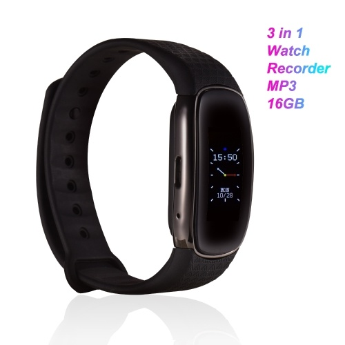 Portable Digital Voice Recorder Watch MP3 Music Player