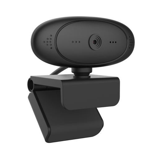 1080P HD Computer Camera Video Conference Camera Webcam 2 Mega Pixel Auto Focus 360° Rotation USB Plug & Play with Microphone for Video Meeting Online Teaching Training Live Webcasting