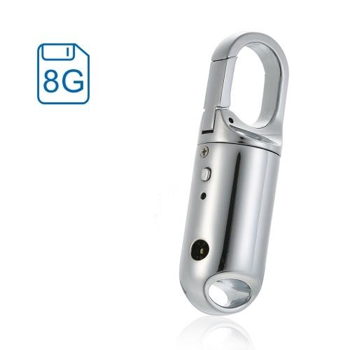 Portachiavi portatile Registratore vocale digitale Lettore MP3 Registratore audio Registratore Dittafono