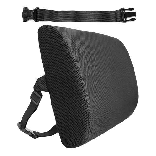 Mesh-Oberfläche Hochelastischer Memory-Schaum Automobile Office Einstellbare Taille Taillen-Rückenkissen