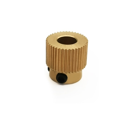 Aibecy 1pc Brass Extruder Pulley