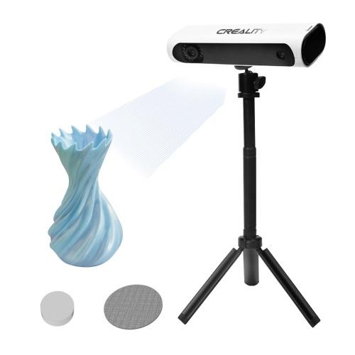 オリジナルのCrealityCR-SCAN01ポータブル3Dスキャナー3Dモデリングスキャナー(ターンテーブルと三脚付き)