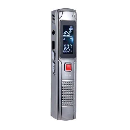 SK-013 8GB Digital Audio Voice Recorder Ditacphone MP3 Music Player AB Repetindo