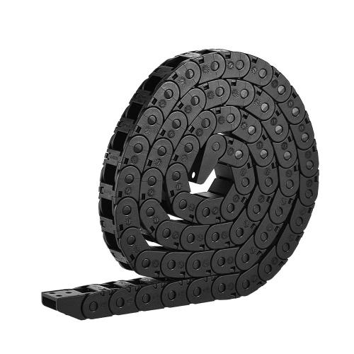 Otwór do otwierania mostka Nylon Przewody do kabla Przeciągnij łańcuch Przewód nośny 3D Pinter Accessory 10 * 11mm 1M Długość