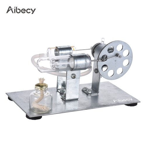 Aibecy Mini Hot Air Stirling Motor Modelo de motor Gerador de eletricidade