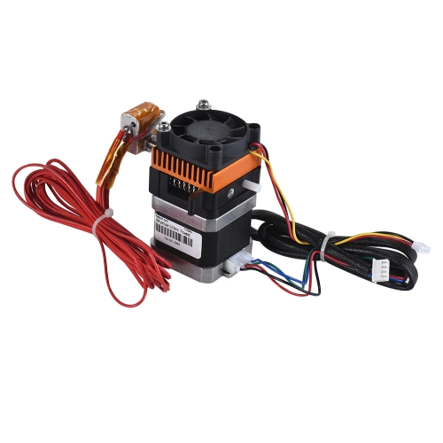 Upgraded 3D Printer Parts MK8 Extruder Kit with Stepping Motor Fan 0.3mm Brass Nozzle