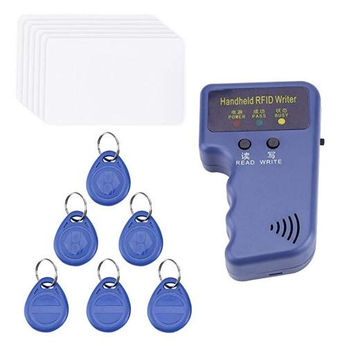 Портативный 125 кГц RFID копировальный аппарат для идентификационных карт писатель дубликатор программист считыватель кода с возможностью записи EM4305 ID брелоки теги карты ключи карты