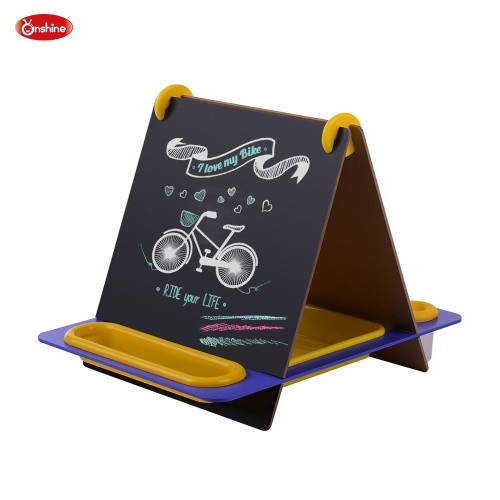 Onshine 3-in-1 Double Sided Tabletop Art Cavalletto Lavagna Disegno Lavagna a secco