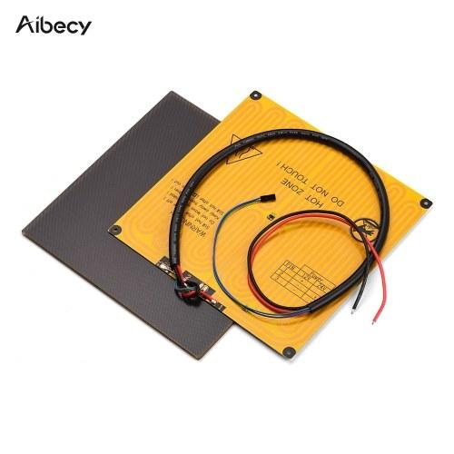 Aibecy 220*220mm Ultrabase Platform Glass Plate