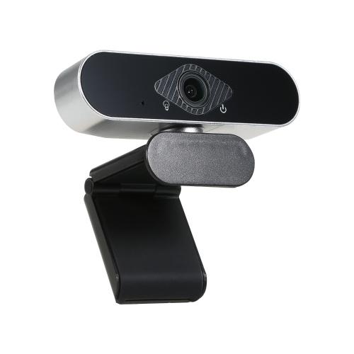 1080P HD Computerkamera Videokonferenzkamera Webcam 2 Megapixel Autofokus 360 ° Drehung H.264 Videokomprimierung