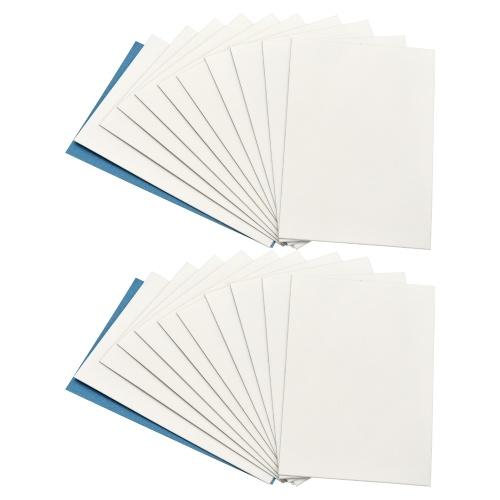20 листов глянцевой липкой обратной фотобумаги