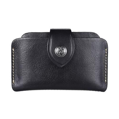 Classic 3-Layer Suporte do cartão de crédito Presente da Carteira do saco bolsa