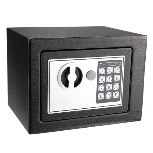 Ramka Cyfrowa Elektroniczna blokada klawiatury Bezpieczne Bezpieczeństwo All Steel przez Home Office 9.05 * 6.69 * 6.69inches