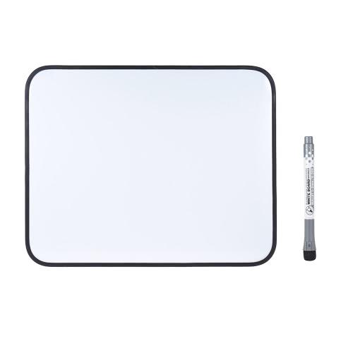 Dry Erase Magnetic Desenho Escrever Conselho Whiteboard com Pen Quadro suporte de plástico para o oficial Estudantes Crianças 35 * 28 cm / 14 * 11in Preto