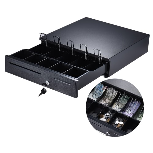 Heavy Duty Electronic 405 Szuflada kasowa Case Storage 5 Bill 5 Coin Trays Sprawdź wpis