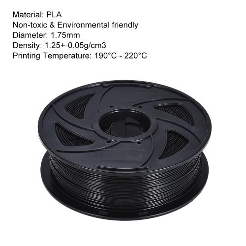 Color Optional PLA Filament 1kg-Roll 2.2lb 1.75mm for MakerBot Anet RepRap 3D Printer Pen Beige