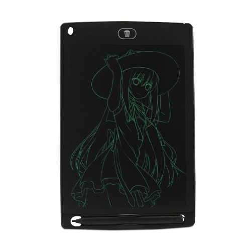 Scrittura LCD Tablet da 8,5 pollici Doodle Pad Scrittura elettronica portatile Scrittura ambientale e disegno Memo Board con Stilo Regalo per bambini Adulti (Nero)