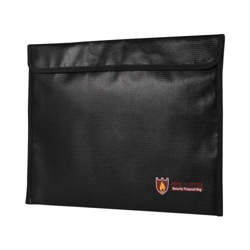Organizzatore impermeabile rivestito in silicone della borsa del documento 100% a prova di fuoco