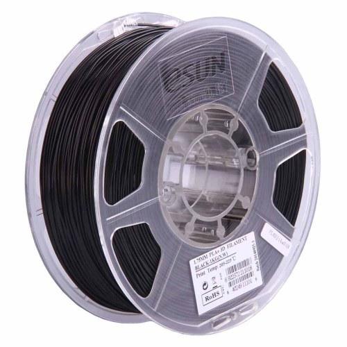 eSUN PLA + 1,75 мм черный материал для измельчения зерна кукурузы для 3D-принтера Катушка 1 кг (2,2 фунта) Точность размеров +/- 0,05 мм расходные материалы