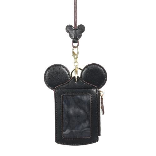 Cartone animato carino titolare della carta di protezione ID carta di credito Caso in pelle Mini tasca sottile portafoglio borsa portamonete con portachiavi e cordino