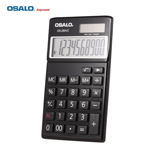 OSALO OS-280VC Portable Student Electronic Accounting Calculator Counter Standard Function