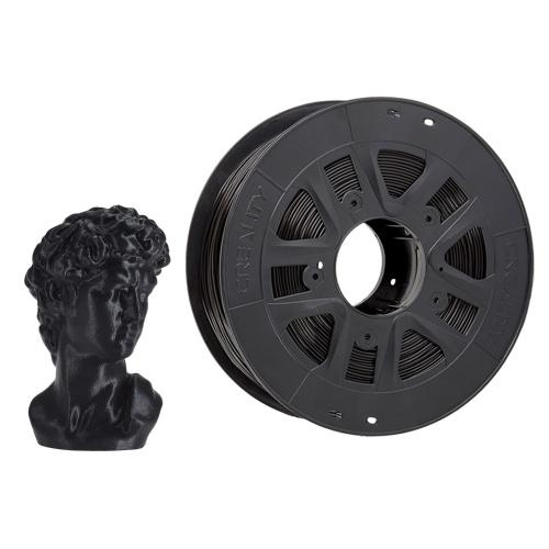 Creality 3D-Drucker PLA-Filament 1,75 mm 1 kg Filament Abmessungsgenauigkeit +/- 0,02 mm, schwarz