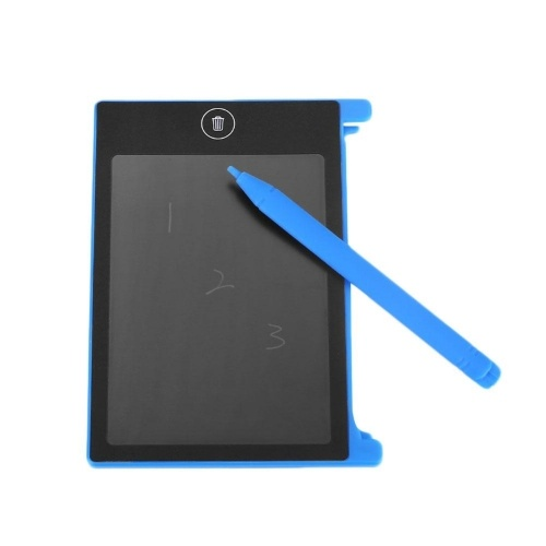 4.4 Inch LCD Writing Tablet Ultra-Thin Electronic Drawing Board Reusable Handwriting Pad with Stylus Lock Button One-Click Erasure for Kids Adults at Home Office School Travel
