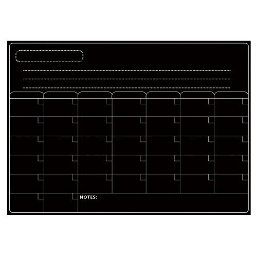 Magnetisches Trockenlöschbrett-Kalender-Whiteboard