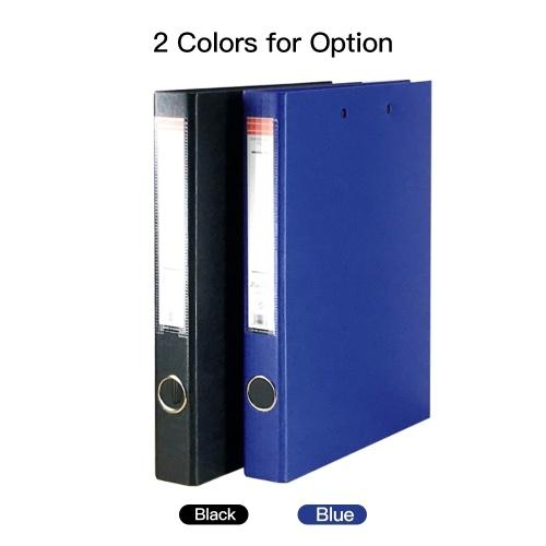 A4 3-Ring Binder Document Organizer Storage Durable File Folder Stationery Gift
