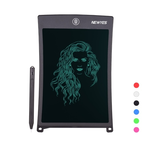 NEWYES 8.5 Inch LCD Writing Tablet Portable Reusable Electronic Digital Drawing Board Graphics Handwriting Pad Single Color Screen