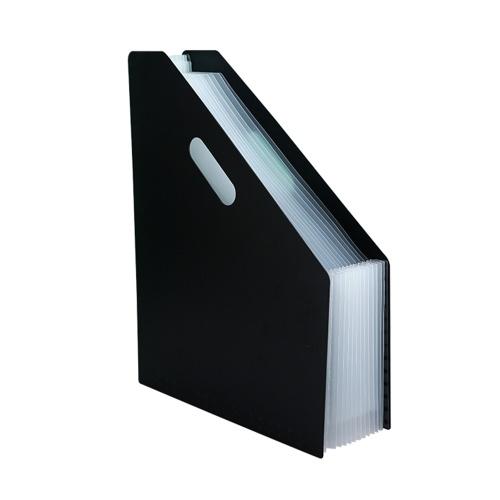 Держатель файлов формата А4 расширяемый органайзер для документов Настольная стойка для файлов с 13 отсеками для домашнего использования в школьном офисе