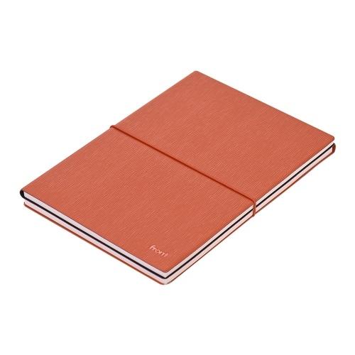 Przedni notes A5 ze skóry PU Miękka okładka z elastycznym zapięciem na segregator Notatnik dzienny