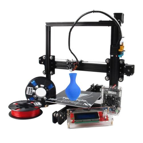 TEVO Tarantula I3 Kit de Impressora em Extrusão de Alumínio 3D Auto e Grande Cama Impressão em 3D 2 Rolos de Filamento de Cartão de Memória de 8GB como Dom