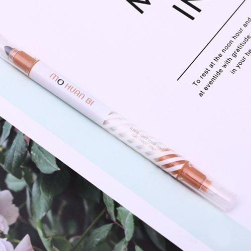 Evidenziatore a doppia punta con penna magica fluorescente da 12 pezzi