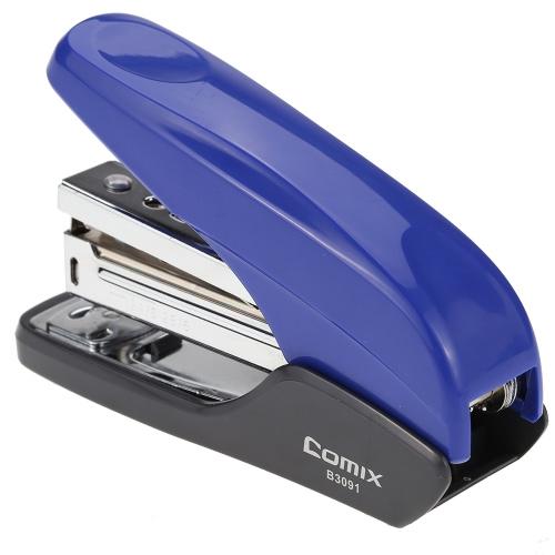 Comix B3091 Reduzido Esforço grampeador 25 folhas Capacidade Livro esgoto Grampeamento máquina 12 #