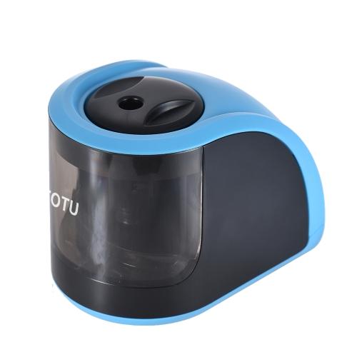 TOTU JD3006-1 Apanhador de lápis elétrico automático de 1 buraco elétrico ou cabo USB operado para estudantes de escola em casa Crianças Crianças