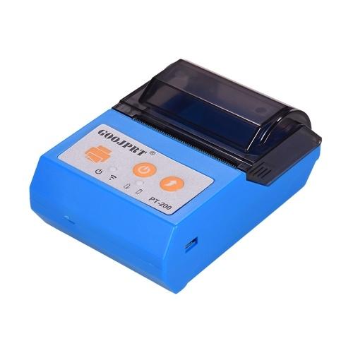 GOOJPRT PT200 Portable Wireless BT 58mm Receipt Thermal Printer