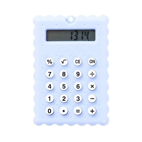 Мини-Милый Калькулятор Карманный Размер 8-значный Дисплей Портативный Портативный Мультфильм Калькулятор Электронный Калькулятор
